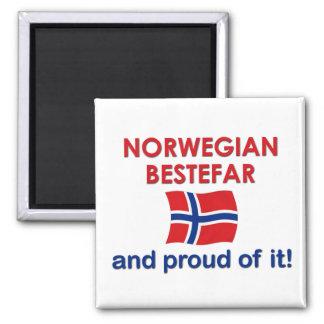 Proud Norwegian Bestefar (grandfather) Magnet