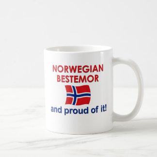 Proud Norwegian Bestemor (Grandmother) Coffee Mugs
