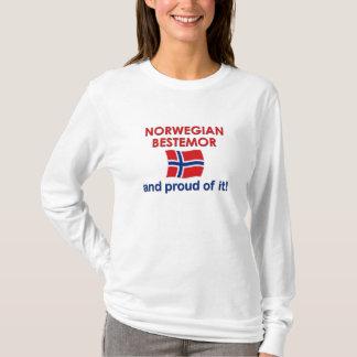 Proud Norwegian Bestemor (Grandmother) T-Shirt