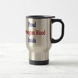 Proud Norwegian Blood Inside Travel Mug