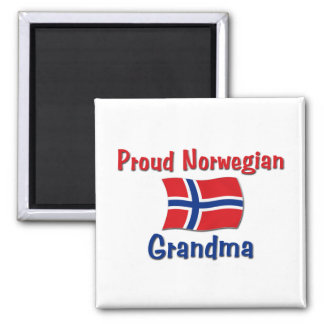 Proud Norwegian Grandma Magnet