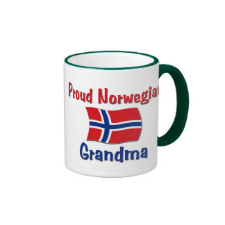 Proud Norwegian Grandma Ringer Mug