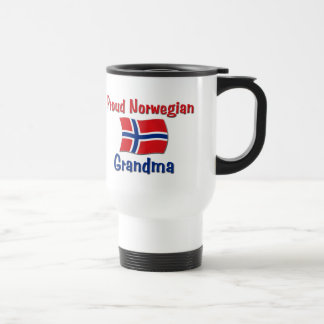 Proud Norwegian Grandma Travel Mug