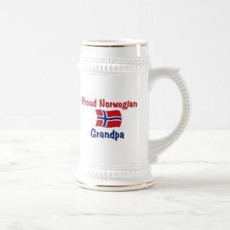 Proud Norwegian Grandpa Beer Stein