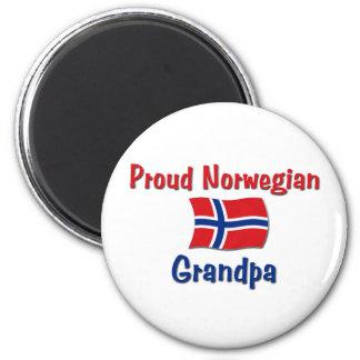 Proud Norwegian Grandpa Magnet