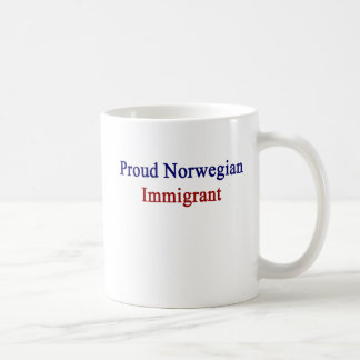 Proud Norwegian Immigrant Coffee Mug