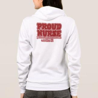 proud nurse humor hoodie