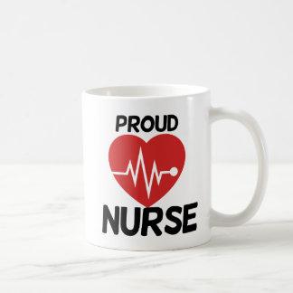 Proud Nurse Classic White Coffee Mug