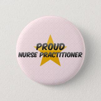 Proud Nurse Practitioner Pinback Button