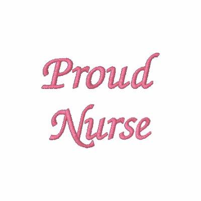 Proud Nurse-R.P.N./Pink Hoodie