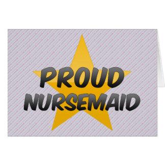 Proud Nursemaid Greeting Card