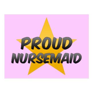 Proud Nursemaid Post Card