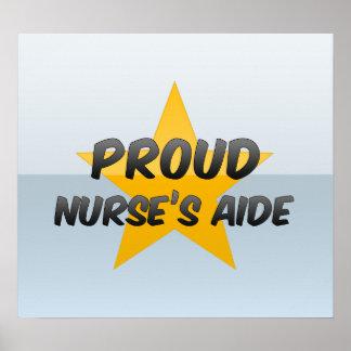 Proud Nurse's Aide Poster
