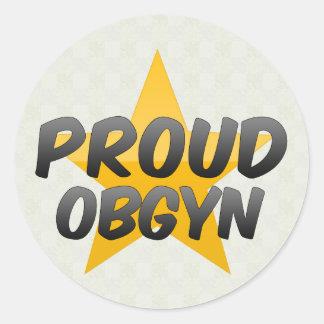 Proud Obgyn Sticker