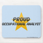 Proud Occupational Analyst Mousepad