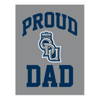 Proud ODU Dad Postcard