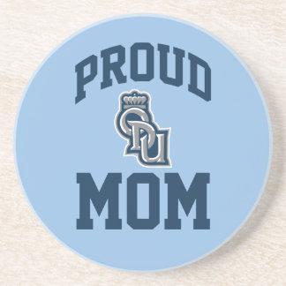 Proud ODU Mom Drink Coaster