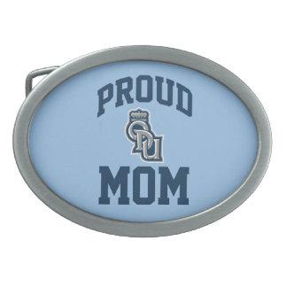 Proud ODU Mom Oval Belt Buckles