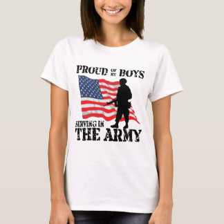 Proud of My Boys Serving T-Shirt