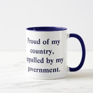 Proud of my country mug