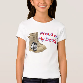 Proud of My Daddy (Navy) T-Shirt