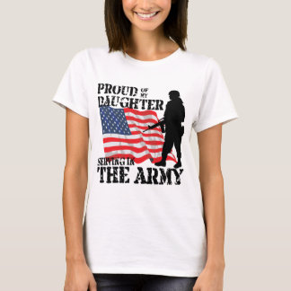Proud of My Daughter T-Shirt