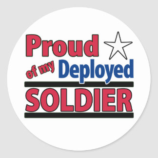 Proud of my Deployed Soldier Sticker