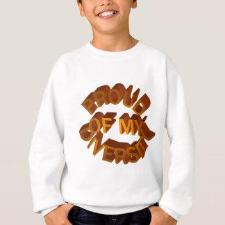 Proud of My Diversity Kids' Sweatshirt