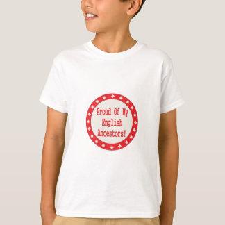 Proud Of My English Ancestors T-Shirt