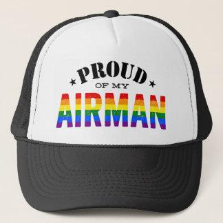 Proud of My Gay Airman Trucker Hat