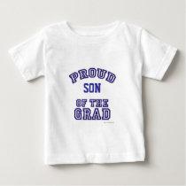 Proud of My Grad plain Baby T-Shirt