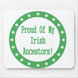 Proud Of My Irish Ancestors Mouse Pad