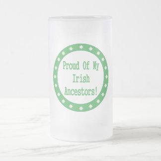 Proud Of My Irish Ancestors Mugs