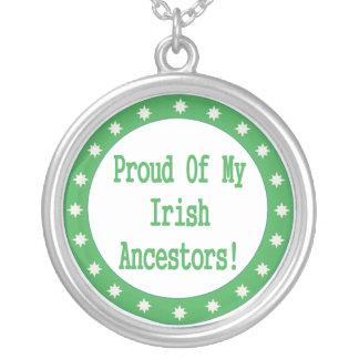 Proud Of My Irish Ancestors Necklace