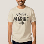 Proud of my MARINE wife T-Shirt