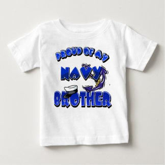 Proud of my Navy brother Baby T-Shirt