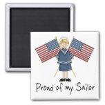 Proud of my Sailor Fridge Magnets