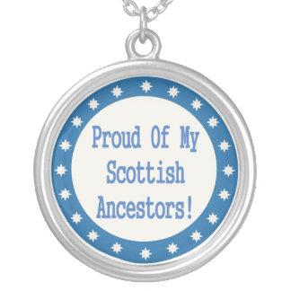 Proud Of My Scottish Ancestors Necklace