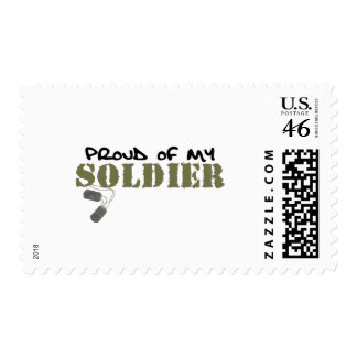 Proud of My Soldier Stamp