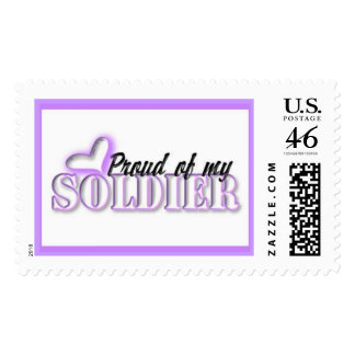 """""""Proud Of My Soldier"""" Postage"""