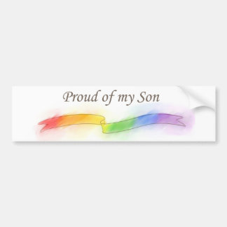 Proud of my Son Bumper Sticker
