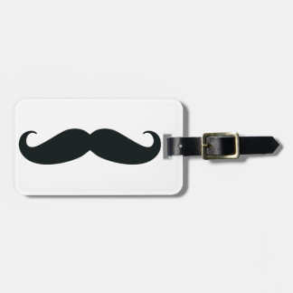 Proud of my Stache....Mustache Luggage Tag