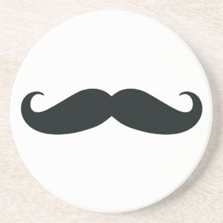 Proud of my Stache....Mustache Sandstone Coaster