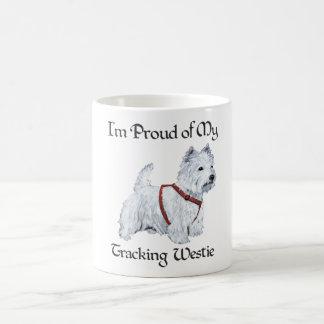 Proud of My Tracking Westie Coffee Mug