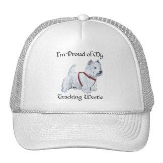 Proud of My Tracking Westie Trucker Hat