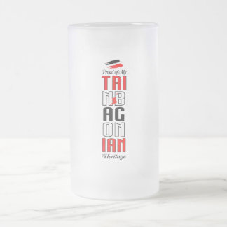 Proud of my Trinbagonian Heritage Frosted Mug