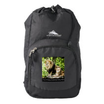 Proud of Saving Animals BACKPACK by RoseWrites