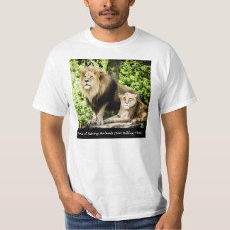 Proud of Saving Animals T-SHIRT by RoseWrites