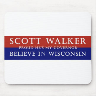 Proud of Scott Walker Mouse Pad
