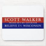 Proud of Scott Walker Mouse Pads